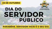 28 DE OUTUBRO - DIA DO SERVIDOR PÚBLICO