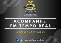 ACOMPANHE EM TEMPO REAL HOJE À SESSÃO ÀS 17 HORAS