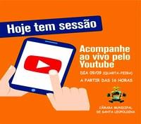 ASSISTA AO VIVO A SESSÃO DA CÂMARA