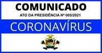 Ato da Presidência nº 005/2021