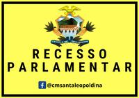 Recesso Parlamentar!